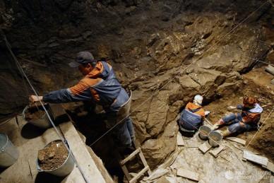 В Денисовой пещере обитали три вида людей