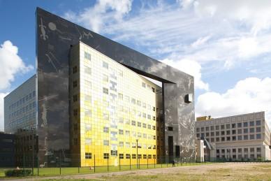 Эрмитаж возобновляет строительство 13-этажной библиотеки в Старой Деревне